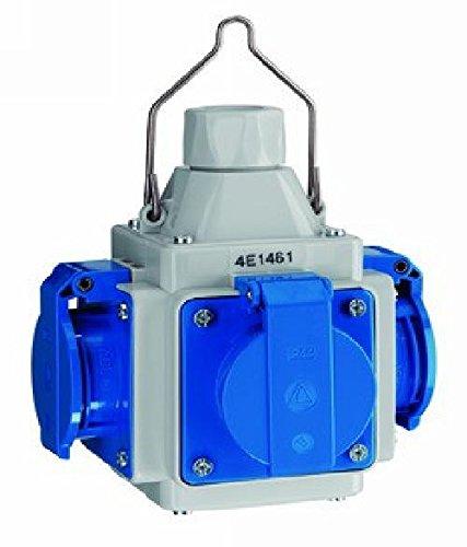 ABL SURSUM Energiewürfel 4E 1561 4xSchuko, IP44 CEE-Steckdosen-Kombination 4011721160535