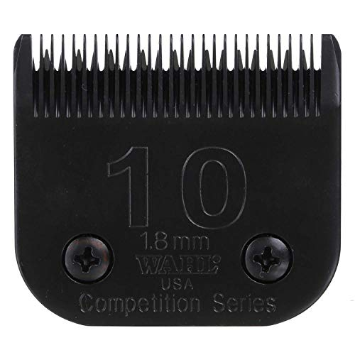 Price comparison product image Wahl Professional Animal 10 Medium Ultimate Competition Series Detachable Blade with 1 / 16-Inch Cut Length ( 2358-500),  Black