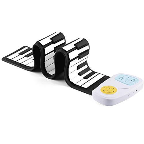 Sale!! Ystle 49 Keys Hand Roll Piano Child Getting Started Keyboard Music Silica Gel Fold Piano Todd...