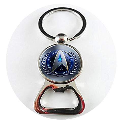 Star Trek Original Series Command Symbol Französischer Draht Halskette Flaschenöffner Literary Schmuck