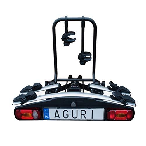 Aguri Activebike E-Bike/AHK-fietsendrager voor 2 fietsen
