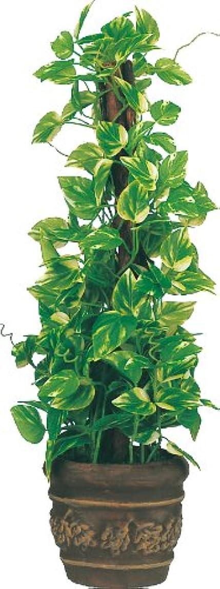 創造作成する美徳ポピー(Popy) 観葉植物の造花 ポトスポット