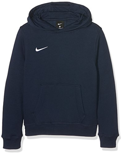 Nike Unisex Kinder Kapuzenpullover Team Club, Blau (Obsidian/football White), S