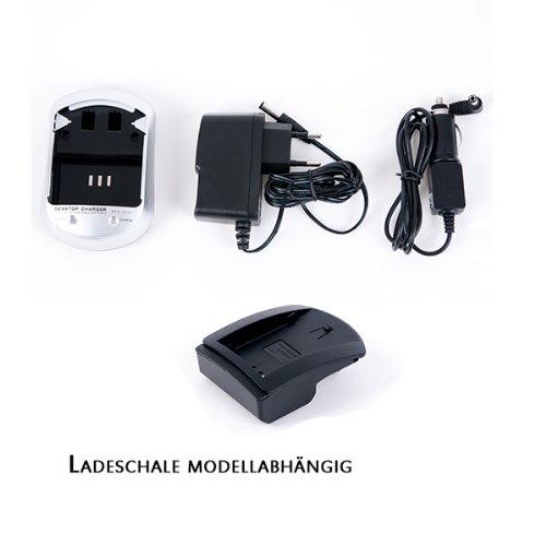 NFE² Ladestation mit Kontroll LED incl. Adapter passend für Leica BP-DC9
