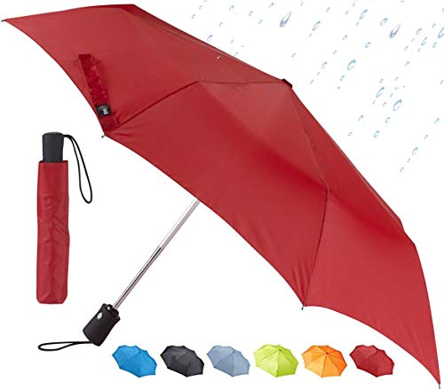 Lewis N. Clark Windproof and Water Repellent Travel Umbrella