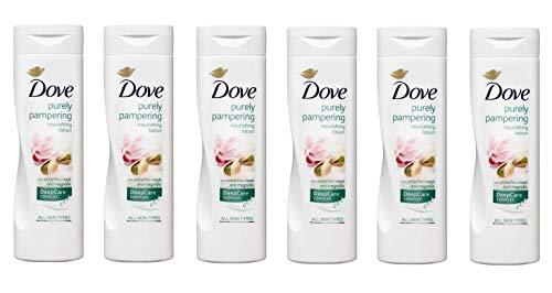 6 Dove creme Body lotion Körpercreme Körperlotion Pistazie und Magnolia 250ml