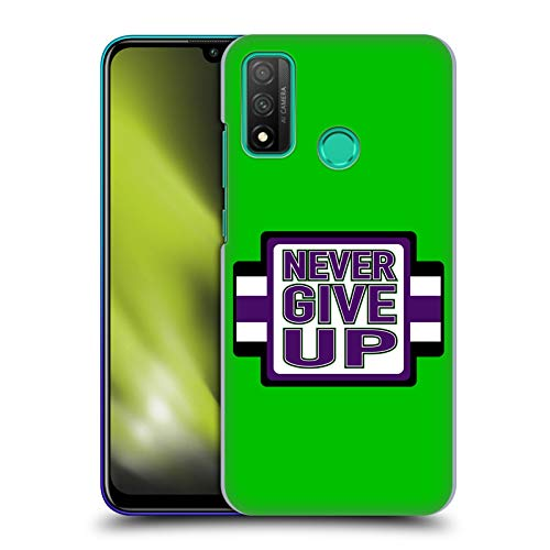 Official WWE John Cena Never Give Up 2018/19 Superstars 4 Hard Back Case Compatible for Huawei P Smart (2020)
