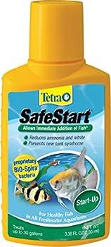 Tetra SafeStart Plus For Newly Set-Up Fish aquariums 100 ml 3.38-Ounce