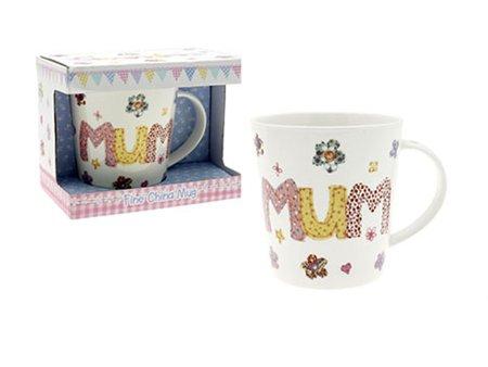 Pretty Mum Fine China Mug – Abigail Patchwork