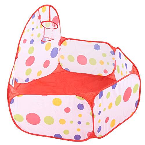 KUIDAMOS Carpa de Bolas, sin Olor Acre Carpa Plegable para bebés para niños para ejercitar el Sentido de la reflexión