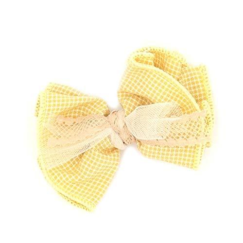 TSEINCE Nieuwe C's Stof Boog Haarspeld Meisje Duckbill Clip Baby Side Clip Meisje Kaart Mode Kleine Verse Haaraccessoires