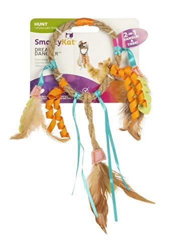 SmartyKat Dream Dangler Jute and Feather Cat Toy