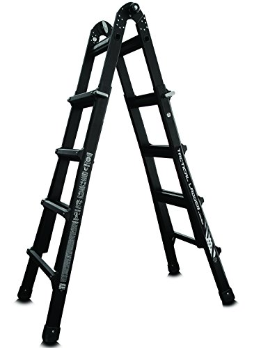 Little Giant 10102T Tactical 300-Pound Duty Rating Multi-Use Ladder, 17-Feet