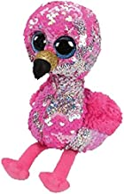 LAJKS Ty Beanie Boos Sequin Series Plush Toys Owl Flamingo Penguin Animal Doll Cat Dragon Collectible 25Cm New Must Haves Gift Tags The Favourite Comic Superhero Decorations Must Have Tools