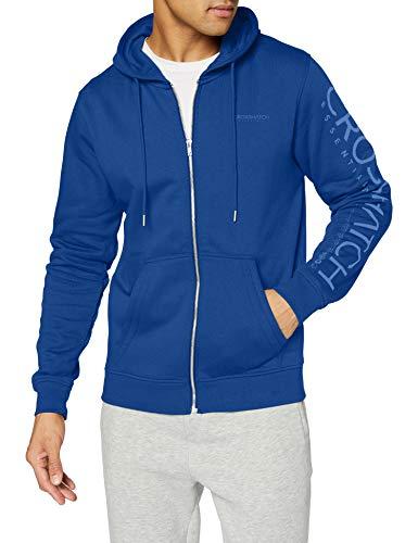 CrossHatch Herren HOODSMORE Sweatshirt, True Blue, M