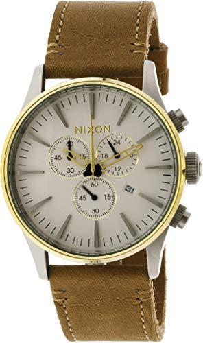 NIXON Reloj Cronógrafo para Hombre de Cuarzo con Correa en Cuero A4052548