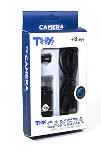 Toy Lab- Cámara SD, Color Negro (RPTL00103)