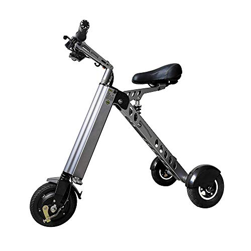 Freego-EV Foldable Electric Tricycle Mini Foldable Tricycle   Full Charge 30KM Range   Weight 14KG with 3 Gears Speed Limit 6-12-20KM/H
