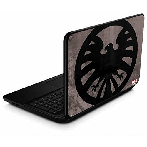 Skinit Decal Laptop Skin Compatible with 15.6 in 15-d038dx - Officially Licensed Marvel/Disney Shield Emblem Design