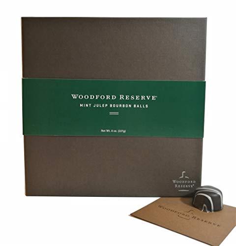 Woodford Reserve Premium Mint Julep Bourbon Ball Gift Box