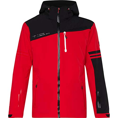 McKINLEY Herren Skijacke Ski Jacke Dixon rot schwarz, Größe:XXL