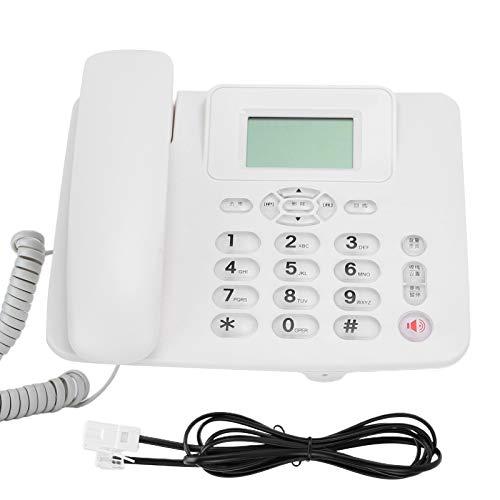 Yunir Home Festes Telefon, Keine Batterie Dual Interface Funktionserweiterung, für Business Office Home