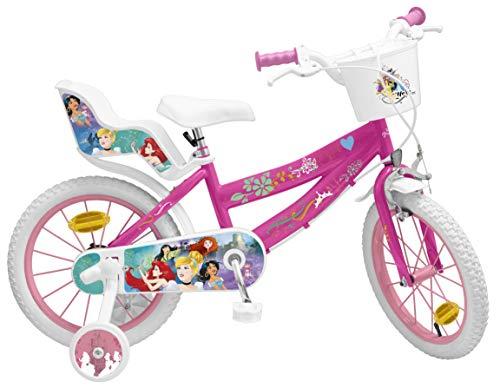 Toimsa 645 - Bicicletta per Bambine Principesse 16', 5-8 Anni
