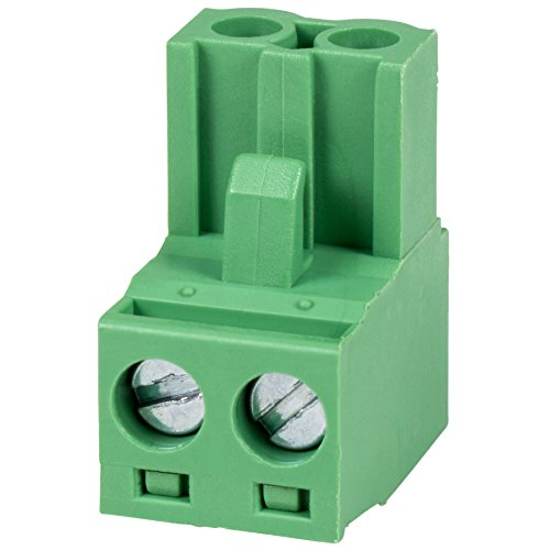 Phoenix Type Connector 2-Pole 5mm Pitch