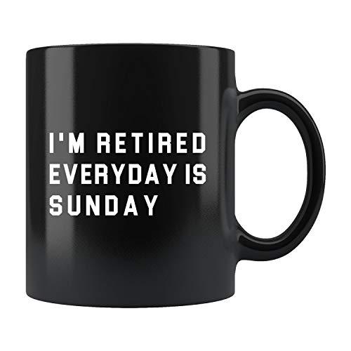 Lplpol Taza de café retiro, regalo de jubilación, regalo de jubilación, regalo de jubilación, regalo de jubilación, regalo para jubilación #B365, 325 ml
