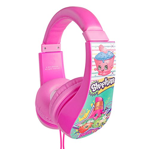 Shopkins Kid Safe Headphones Headphone, (30333-TRU)