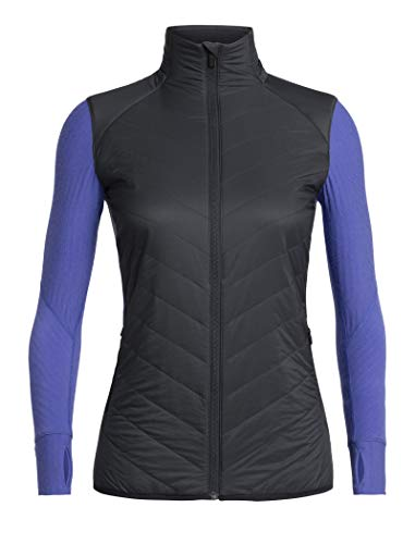 Icebreaker Descender Hybrid Jacket Women, Midnight Navy/Mystic Modèle XL 2019 Veste