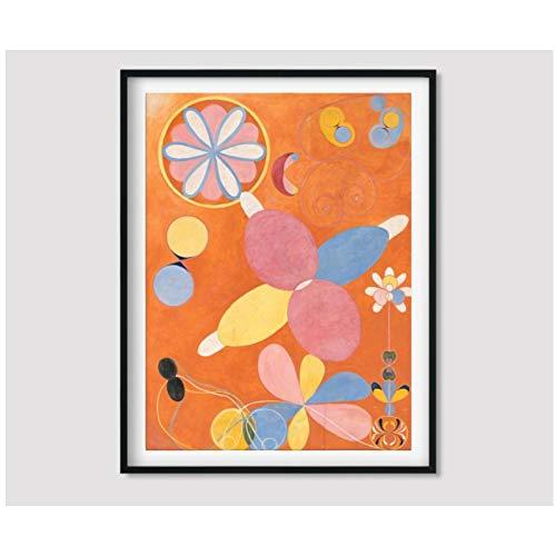 ZXYFBH Cuadros Decoracion Salon Los Diez más Grandes de la Infancia Juvenil Imprime Pinturas Cuadros modulares Arte de la Pared póster Obra de Arte 15.7x19.7in (40x50cm) x1pcs sin Marco