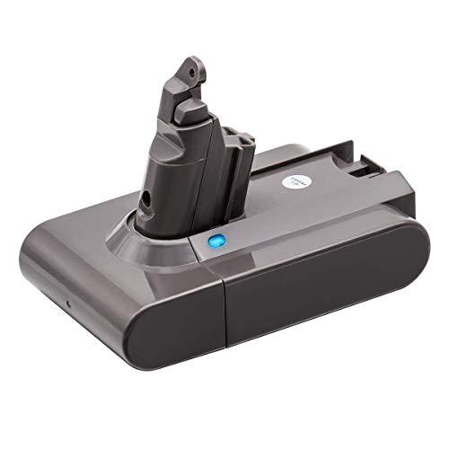 KINGTIANLE Dyson V6 akku Ersatzakku für Dyson V6 21.6v 3000mAh Li-ion Replacement Battery for DC59 DC62 DC58 DC61 Animal DC72 Series 204720-01 209432-01 Handheld Vacuum Cleaner