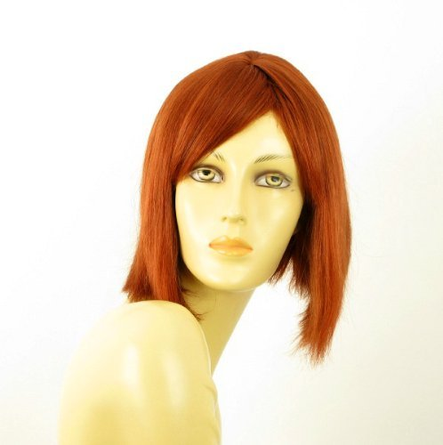 woman wig 100% natural hair copper intense ref MYLENE 130 by WIG UNIVERS