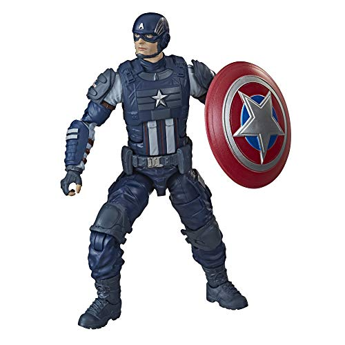 Hasbro Marvel Legends Series Gamerverse 15 cm große Captain America Action-Figur, ab 4 Jahren