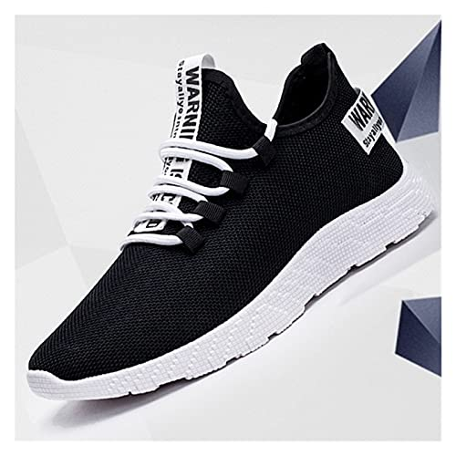 DXXLD Zapatillas de Deporte Respirable Ocasional no Deslizante Hombres vulcanizar Zapatos Masculinos Acoplamiento del Aire de Encaje hasta los Zapatos Resistentes al Desgaste