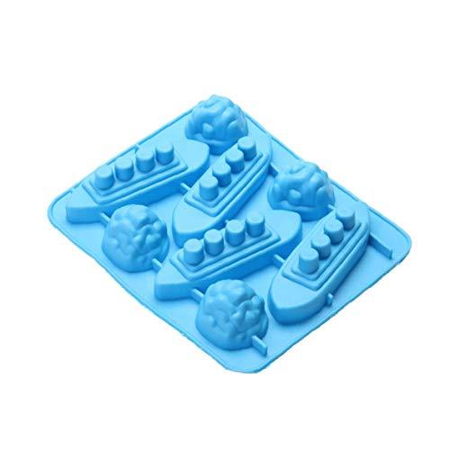 Titanic Iceberg a forma di silicone del cioccolato di caramella, rendendo vassoio della muffa e Ice Cube Vassoi a caso Colorfor Convenienza