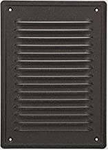 KOTARBAU® Ventilatierooster 230x165 mm uitlaatrooster inschroeven gelakt open haard ventilatie antraciet insectenbeschermi...