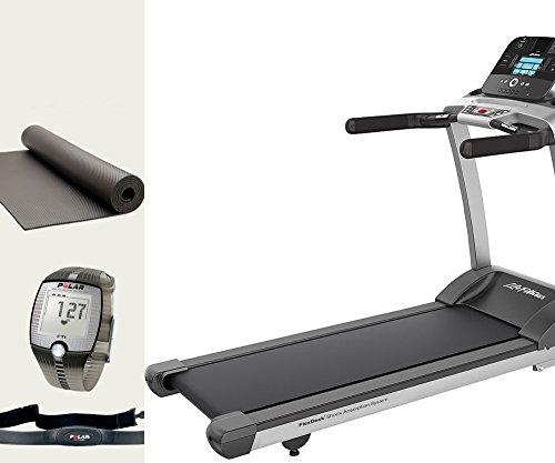 Life fitness F3 Track cinta de correr incluye, Polar Pulsómetro y ejercicios