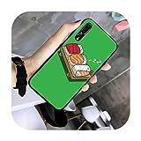 FightLY Sushi Coque de protection en TPU pour Huawei G7 G8 P7 P8 P9 P10 P20 P30 Lite Mini Pro P...