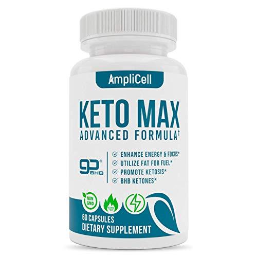 Keto Pills - Advanced Keto BHB Supplements w/Carb Blocker for Men & Women -...