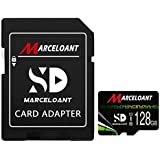 128GB Micro SD Card with Adapter,U3 MicroSDXC...