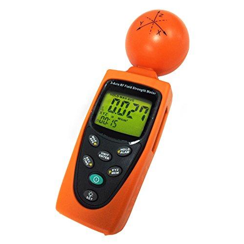 3 Assi EMF Radiazioni RF ElectroSmog Meter