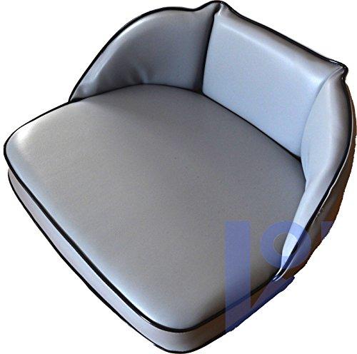 Schleppersitzkissen mit Lehne 20cm