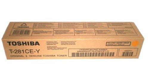 Toshiba t-281ce-y 10000páginas amarillo–cartuchos tóner y láser (amarillo, Toshiba, Toshiba e-Studio 281, E-STUDIO 351, E-STUDIO 451) ✅