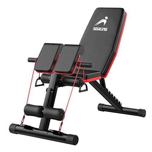 Adjustable Weight Bench - Sit Up Bench - Home Gym Foldable Ab Bench - Decline Incline Flat Bench | Flat Fly Weight Press Fitness - Utility Dumbbells Bench for Full Body Workout - 600 LB