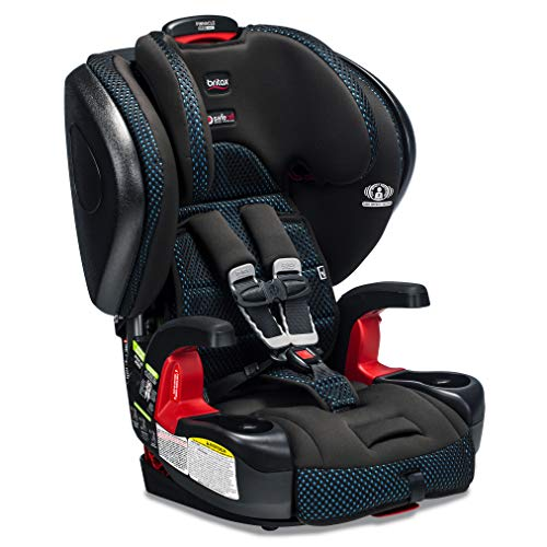 Britax Pinnacle ClickTight Harness-2-Booster Car Seat - 3 Layer Impact Protection - 25 to 120 pounds - Cool Flow Ventilating Fabric, Teal