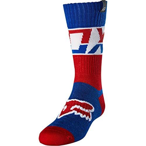 Fox Youth Sock Afterburn Blue Ys