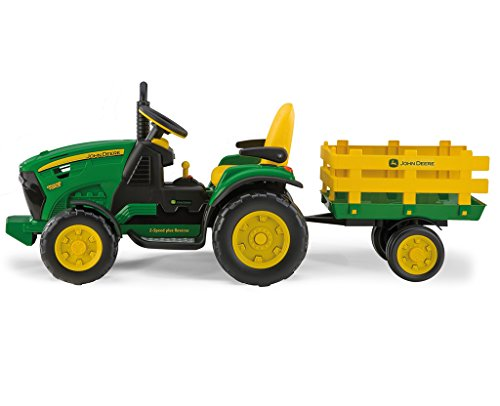 Peg Perego John Deere Ground Force inkl. Anhänger