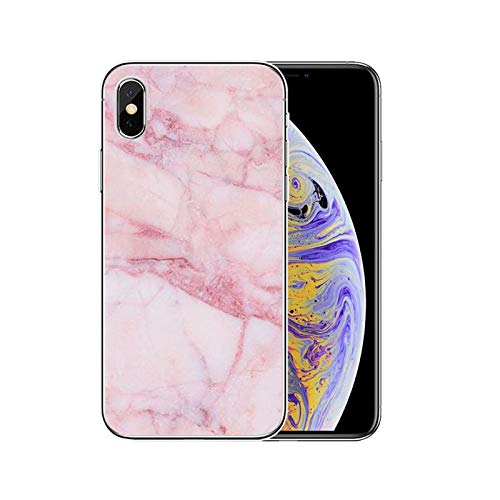 mármol rosa moda transparente teléfono caso para iphone 12 11Pro Max 11 XR XS Max X 8 7 6 6S Plus 5 5S SE 2020 contraportada Shell-T20042109-09.jpg-Para iPhone 8